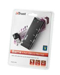Trust 4ports usb 2.0 mini hub