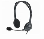 Logitech H111 Headset grijs